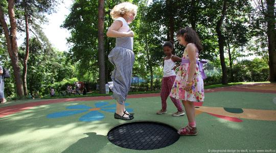 97010 spielplatz trampolin kids tramp playground