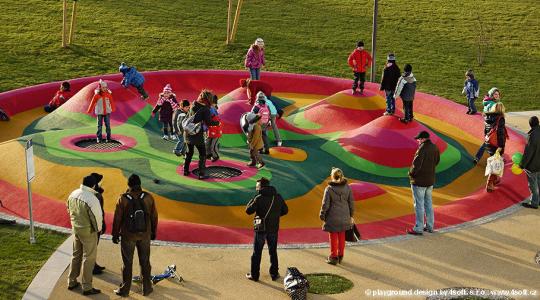 97012 spielplatz trampolin kids tramp playground loop