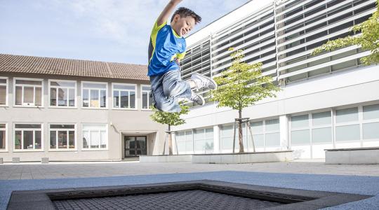 97500 kids tramp playground