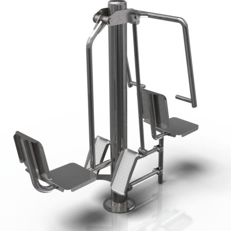 CE 0419 Leg press and pull down chair