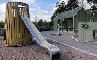 Lekplats Siegbahnsparken Uppsala
