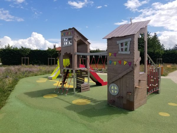 Structure de jeux multi activités KA 12 2004 Thonon Les Bains scaled